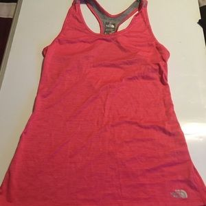 North Face Women Pink Tank Top Size Small